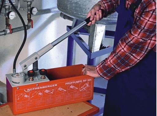Ручное нагнетание в систему давления