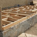 Возведение фундамента для пристройки к дому