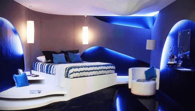 Комната в стиле Авангард