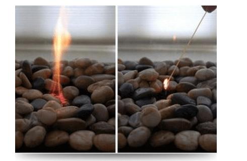 Розжиг биокамина