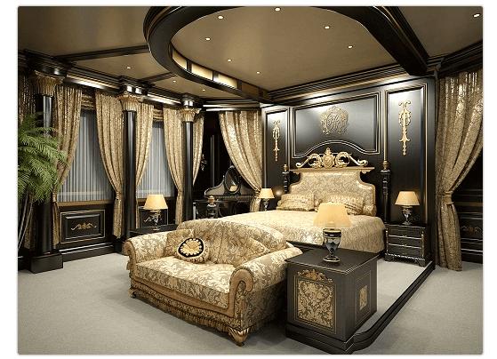 Мебель и элементы декора в стиле ампир