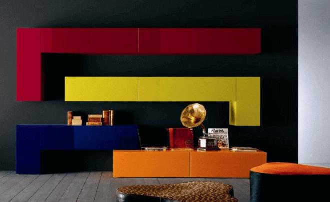 Авангардистская игра цветов