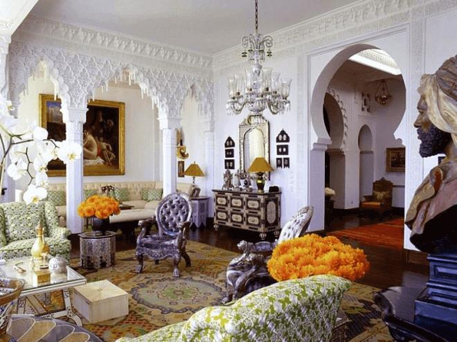Интерьер квартиры в традициях арабских стран