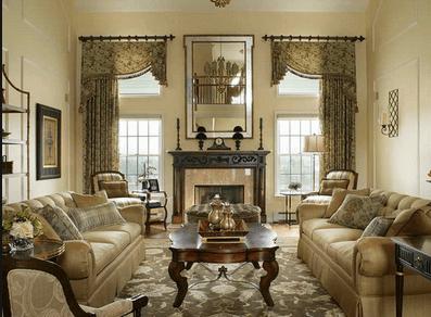 Легкая викторианская гостиная