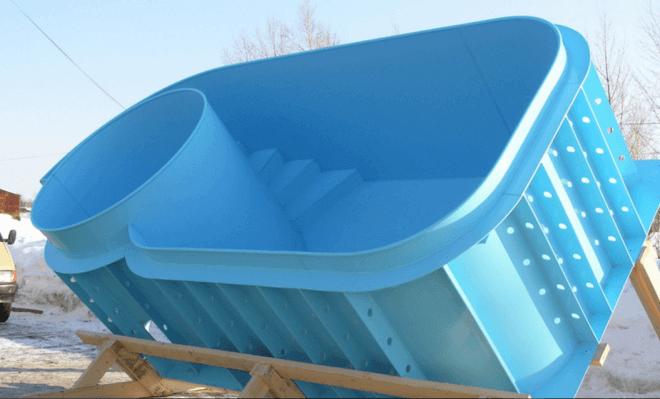 Бассейн в частном доме - Строительство дома своими руками