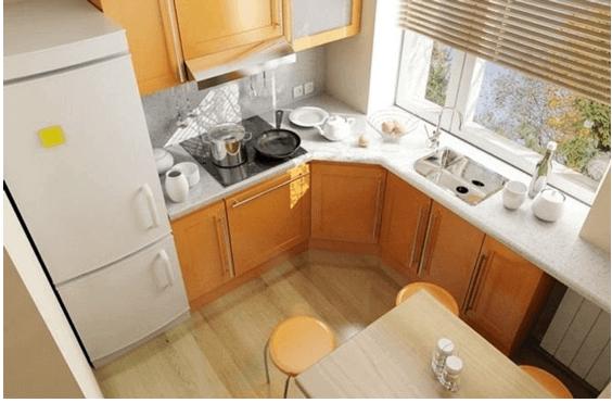 Реконструированная кухня