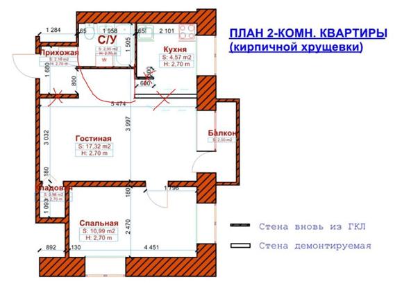 Пример реконструкции