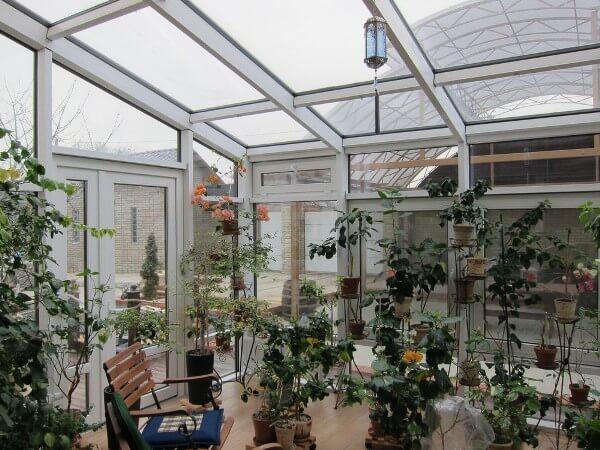 Зимний сад из ПВХ-профиля