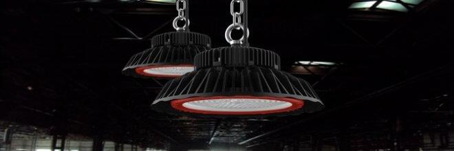 промышленные светодиодные светильники для высоких помещений