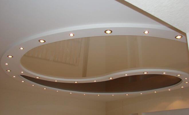 Лампочки gx53 широко применяются для освещения подвесных потолков.