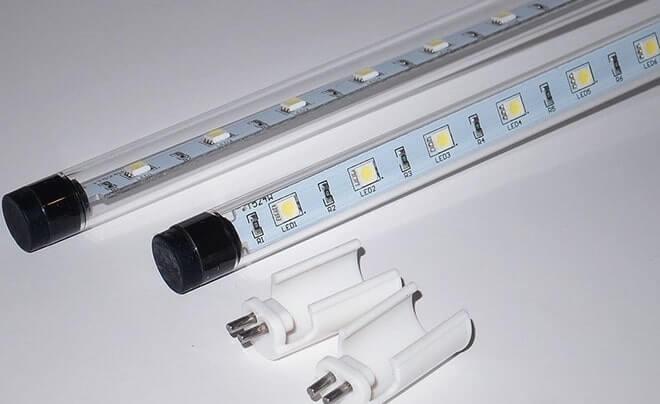 светодиодная лампа т8 очень часто используется для внутреннего освещения помещений.