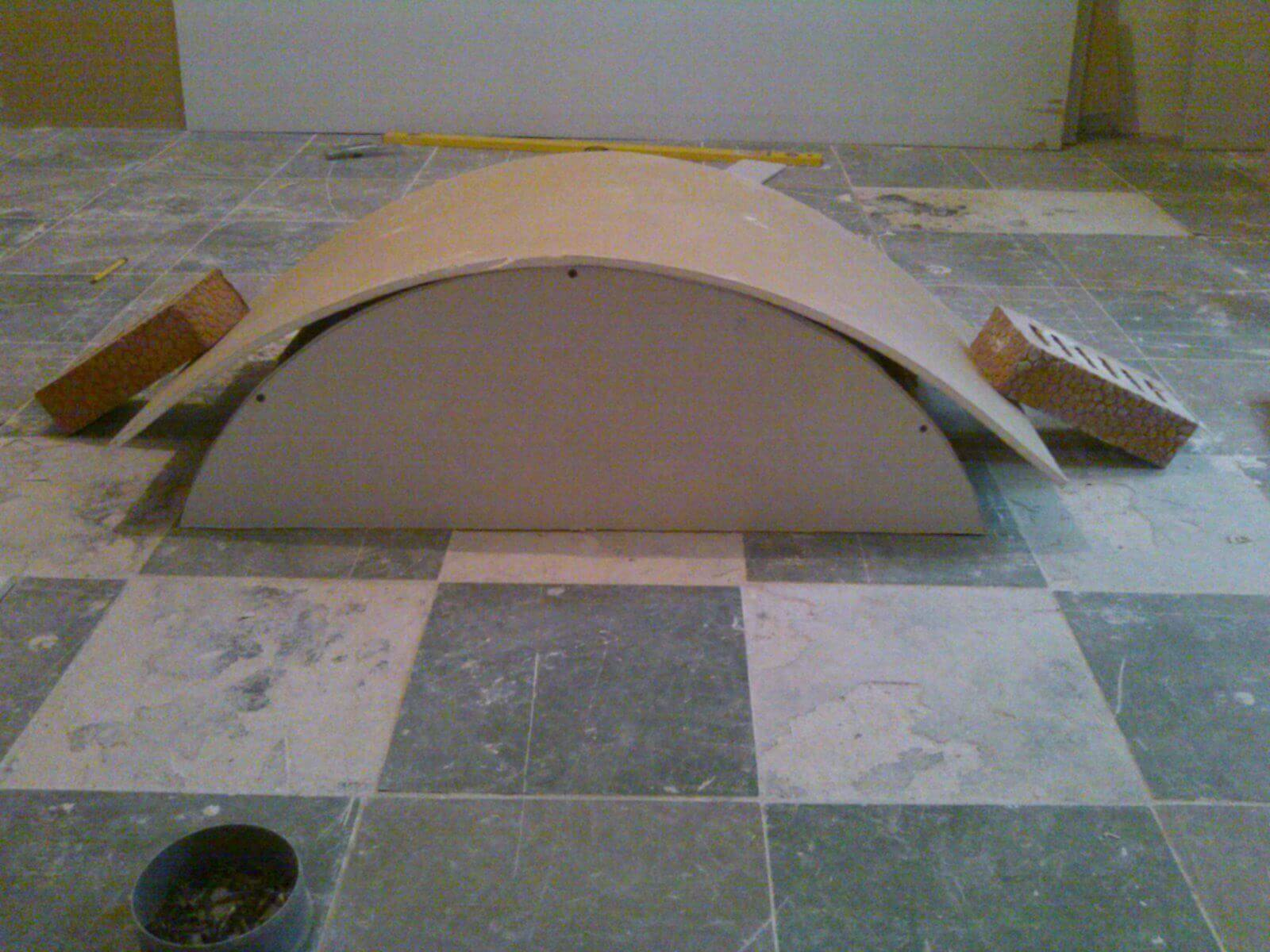 Как сделать арку из двп пошаговая инструкция