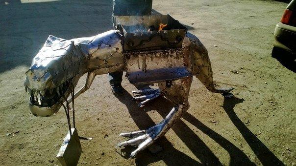 Теплица своими руками из металла