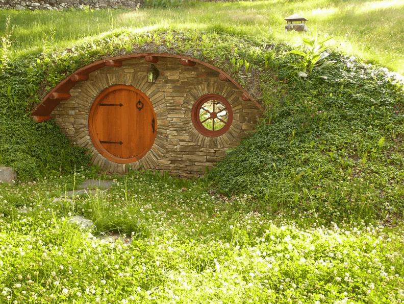 Как сделать земляной дом