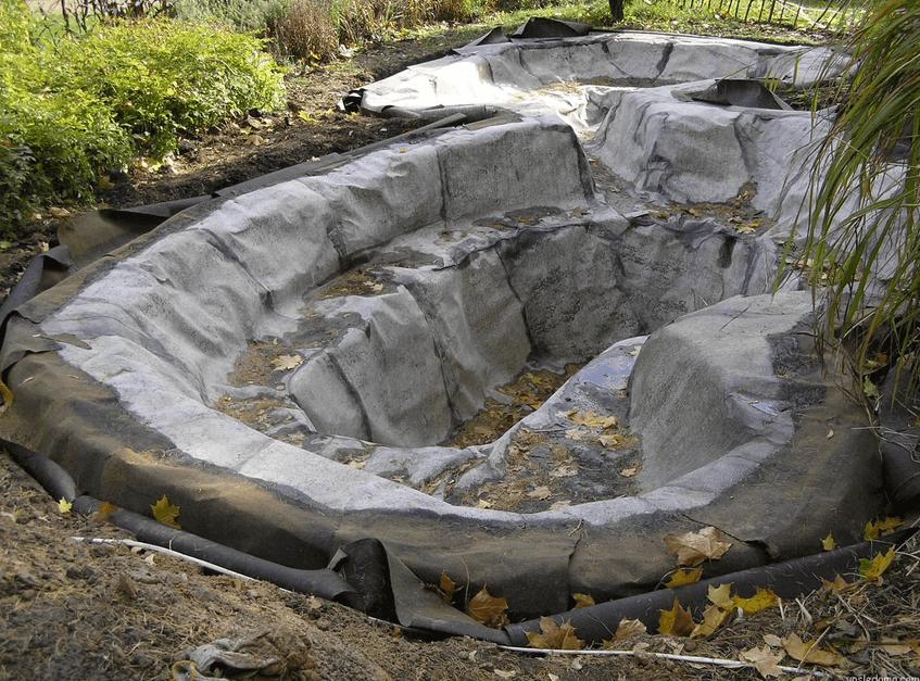 Как построить пруд на даче