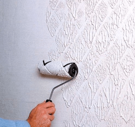Как сделать краску для стен с рисунком