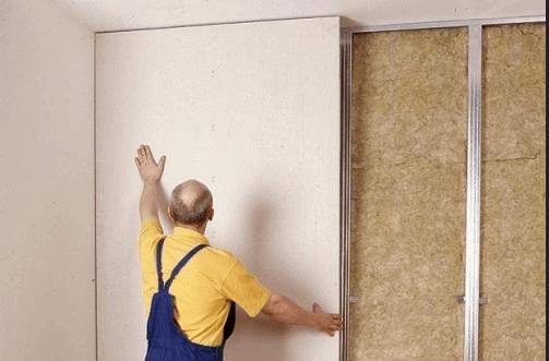 Выравнивание стен в панельном доме своими руками