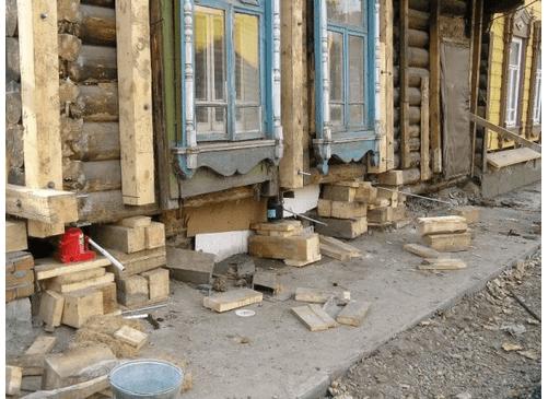 Как поднять потолок в деревянном доме - Строительство дома своими руками
